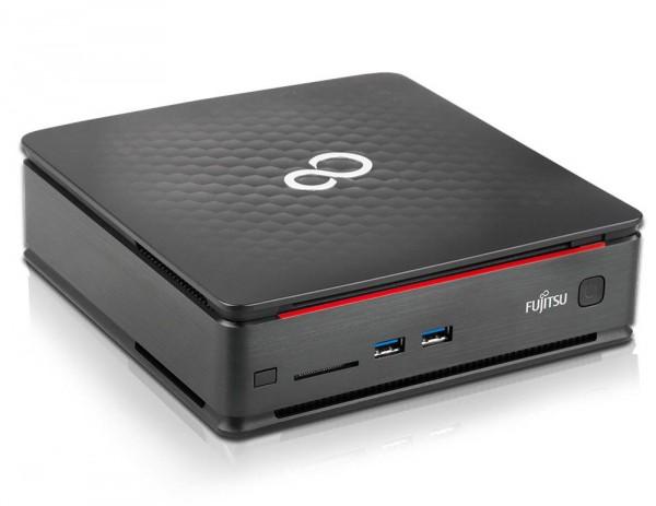 Fujitsu Esprimo Q520 Mini-PC 0-Watt Intel Quad Core i5 128GB SSD 8GB Windows 10 Pro DVD Brenner