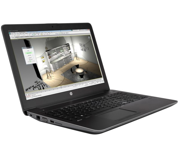 HP ZBook 15 G3 15,6 Zoll 1920x1080 Full HD Intel Quad Core i7 512GB SSD 16GB Windows 10 Pro Webcam UMTS LTE