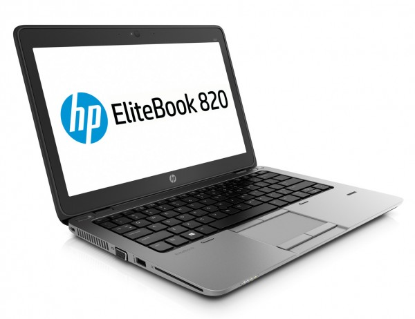 HP EliteBook 820 G3 12,5 Zoll HD Intel Core i5 256GB SSD 8GB Windows 10 Pro Webcam Tastaturbeleuchtung
