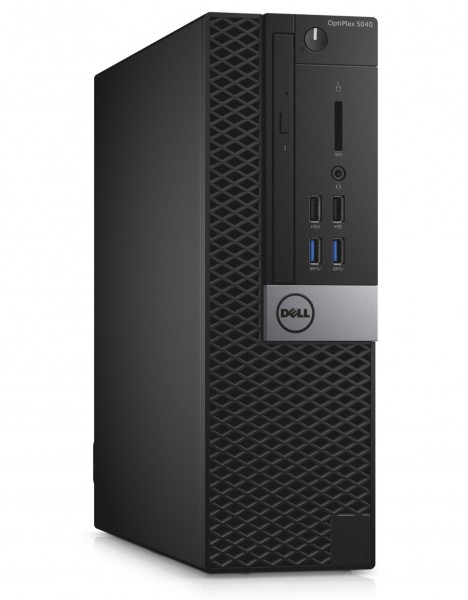 Dell Optiplex 5040 SFF Mini-PC Intel Quad Core i5 256GB SSD 8GB Windows 10 Pro DVD Laufwerk