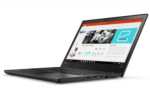 Lenovo ThinkPad T470 14 Zoll 1920×1080 Full HD Intel Core i5 256GB SSD 8GB Win 10 Pro MAR Webcam