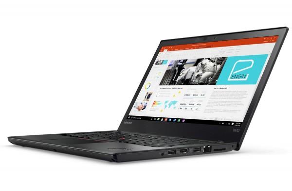 Lenovo ThinkPad T470 14 Zoll 1920×1080 Full HD Intel Core i5 256GB SSD 8GB Windows 10 Pro Webcam Tastaturbeleuchtung