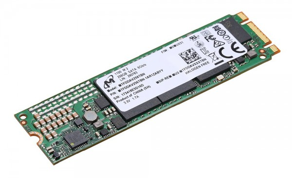Micron Flash Festplatte 256 GB SSD Solid State Drive M.2 2280ss PCIe