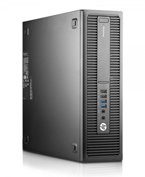 HP EliteDesk 800 G2 SFF Intel Quad Core i5 256GB SSD + 500GB HDD 8GB Windows 10 Pro MAR