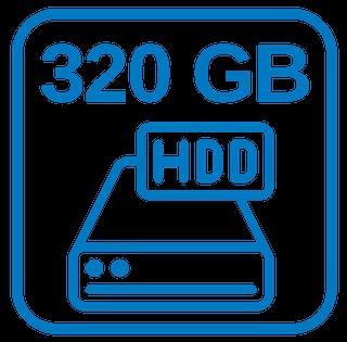 Große Festplatte 320 GB Sata