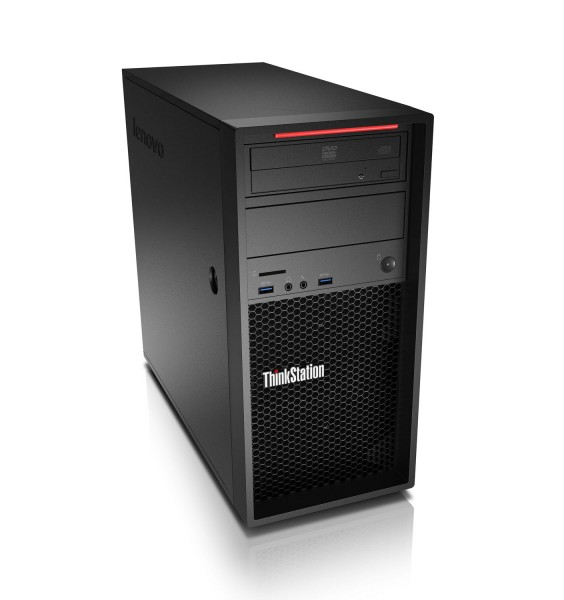 Lenovo ThinkStation P300 Intel Xeon Quad Core E3 v3 512GB SSD 16GB Windows 10 Pro MAR Nvidia Quadro