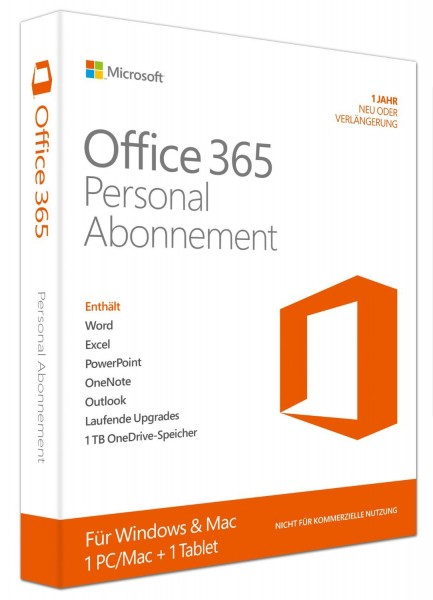 Microsoft Office 365 Personal ESD Download
