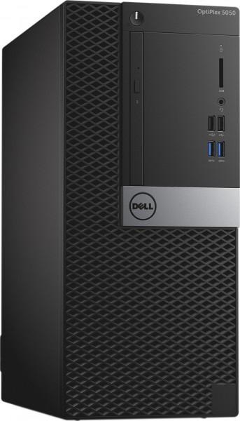 Dell Optiplex 5050 MT Intel Quad Core i7 512GB SSD (NEU) + 1TB HDD 8GB Windows 10 Pro DVD Brenner