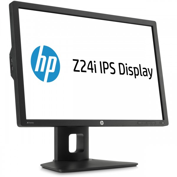 HP Z24i LED IPS schwarz 24 Zoll Full-HD 1920x1200 DisplayPort VGA DVI USB