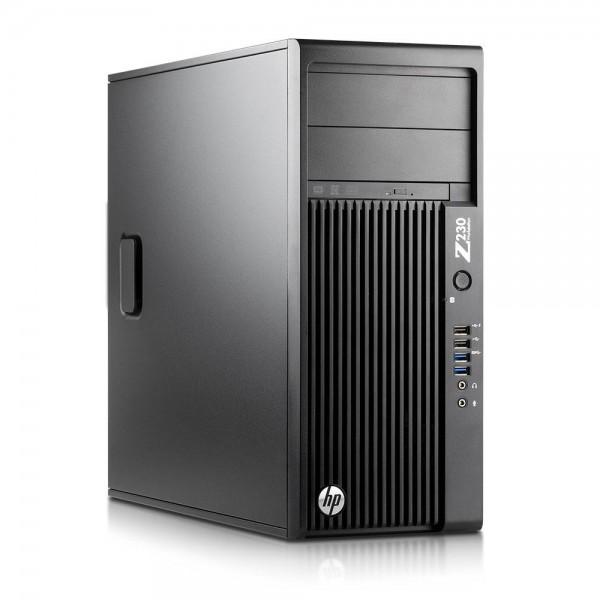 HP Z230 Workstation Intel Quad Core i5 256GB SSD + 500GB 8GB Speicher Windows 10 Pro MAR Nvidia Quadro