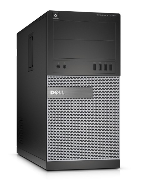 Dell OptiPlex 7020 MT Intel Quad Core i5 240GB SSD (NEU) + 1TB HDD 8GB Windows 10 Pro MAR DVD Brenner