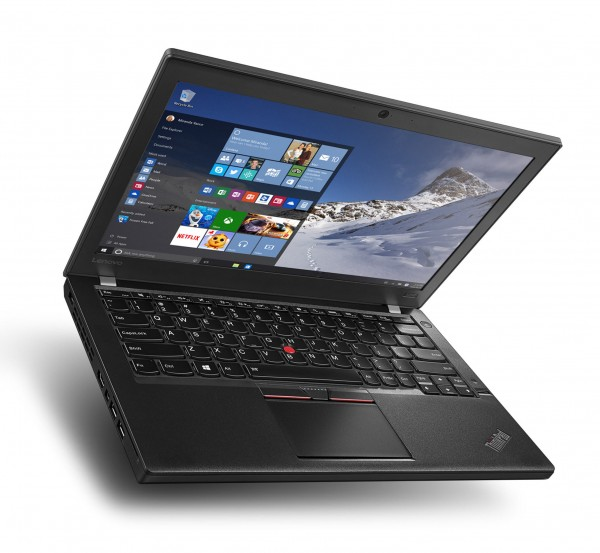 Lenovo ThinkPad X260 12,5 Zoll HD Intel Core i5 128GB SSD 8GB Windows 10 Pro MAR Webcam