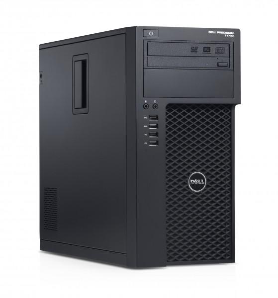 Dell Precision T1700 Workstation Intel Xeon Quad Core E3 v3 256GB SSD + 500GB HDD 16GB Windows 10 Pro Nvidia Quadro