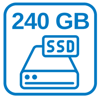 NEUE Große Schnelle Festplatte 240 GB SSD