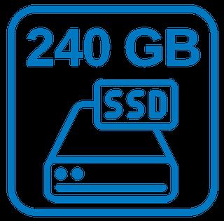 Große Schnelle Festplatte 240 GB SSD