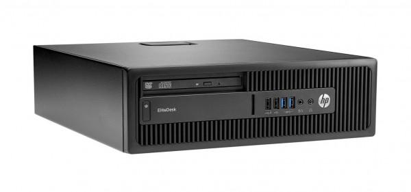 HP EliteDesk 800 G2 SFF Intel Quad Core i5 256GB SSD 8GB Windows 10 Pro MAR DVD Brenner