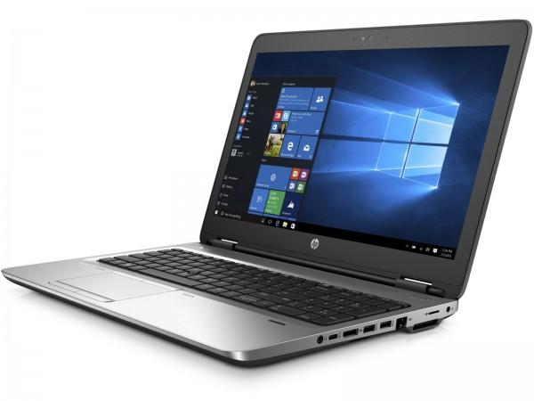 HP ProBook 650 G3 15,6 Zoll 1920x1080 Full HD Intel Core i5 256GB SSD 8GB Windows 10 Pro MAR Webcam