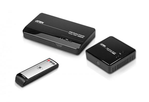 ATEN Schnurlose HDMI-Verlängerung VE809R + VE809E - die clevere Lösung