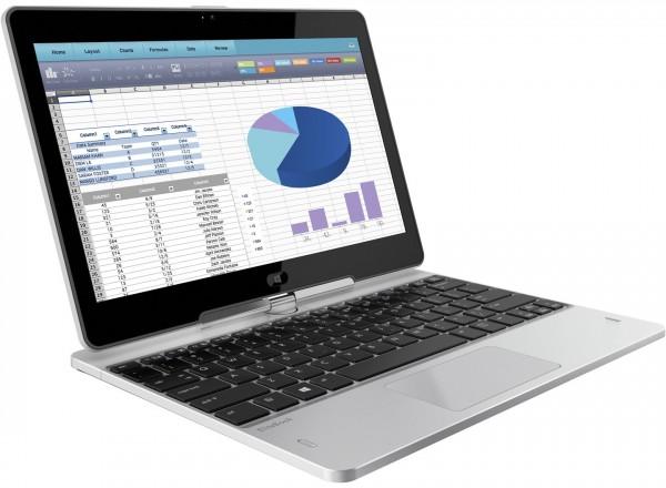 HP EliteBook Revolve 810 G3 Tablet 11,6 Zoll 256GB SSD 8GB Win 7+10