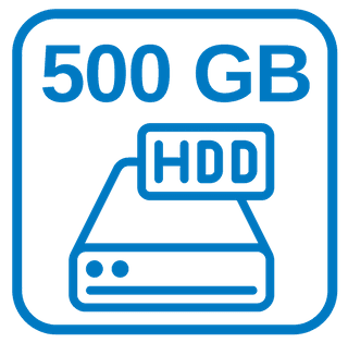 Große Schnelle Festplatte 500 GB HDD
