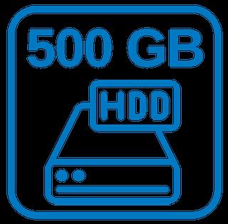 Große Festplatte 500 GB HDD Sata