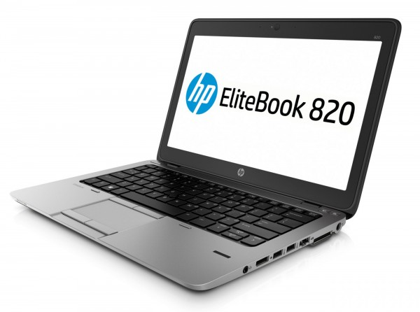 HP EliteBook 820 G1 12,5 Zoll Intel Core i5 256GB SSD 8GB Windows 10 Pro Tastaturbeleuchtung