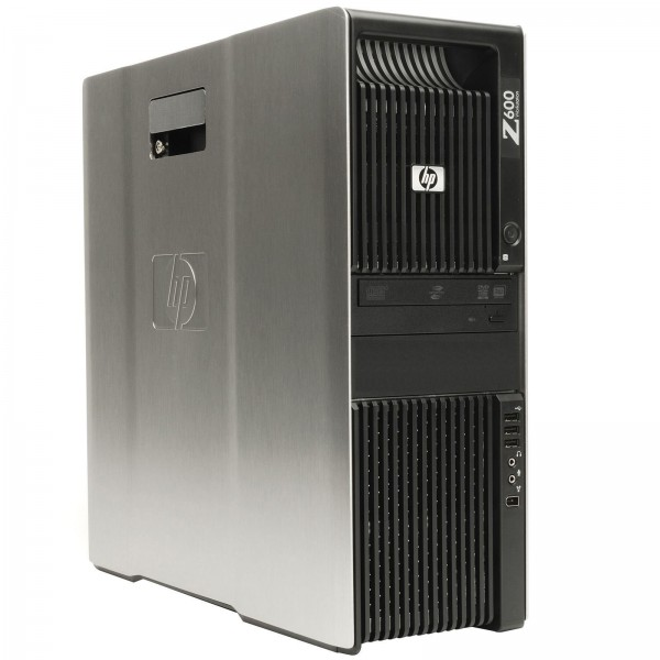 HP Z600 Workstation Intel Xeon Quad Core 500GB Sata 16GB Speicher Win 10 Pro Nvidia Quadro 2000