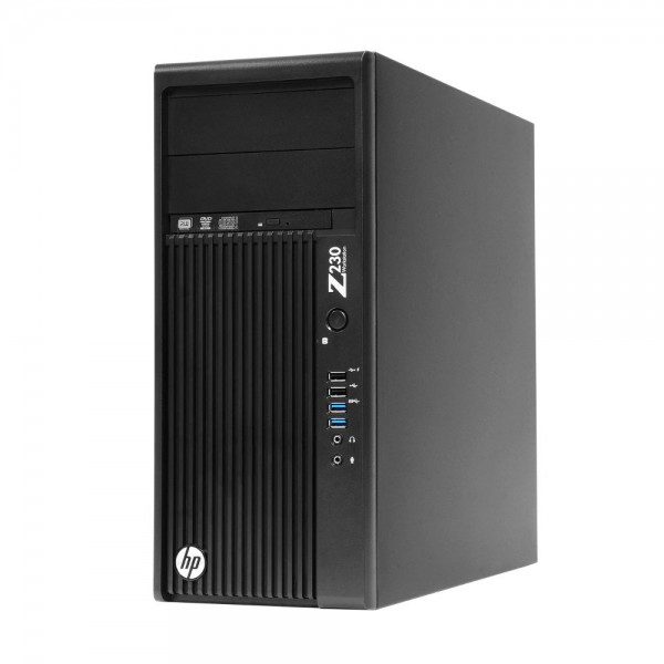 HP Z230 Workstation Intel Xeon Quad Core E3 128GB SSD + 1TB 16GB Speicher Win 10 Pro