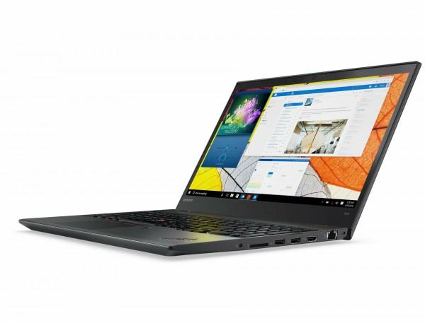 Lenovo ThinkPad T570 15,6 Zoll 1920x1080 Full HD Intel Core i5 256GB SSD 8GB Windows 10 Pro MAR Webcam Fingerprint