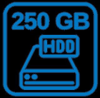 Große Festplatte 250 GB Sata