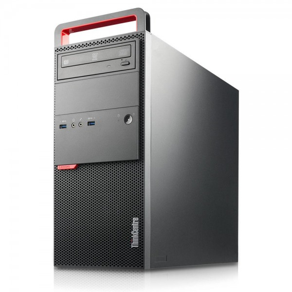 Lenovo ThinkCentre M900 Tower Intel Quad Core i5 256GB SSD Festplatte 8GB Speicher Windows 10 Pro
