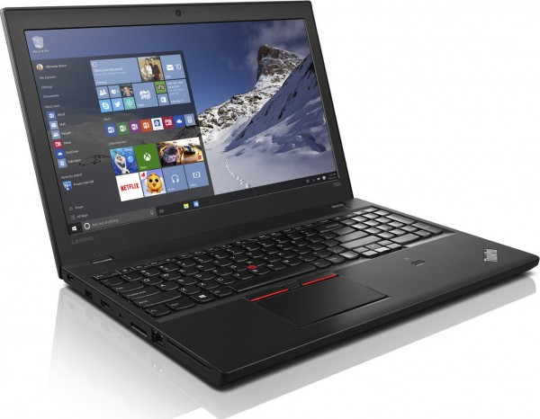 Lenovo ThinkPad T560 15,6 Zoll Touch Display 1920x1080 Full HD Core i5 256GB SSD 16GB Win 10 Pro