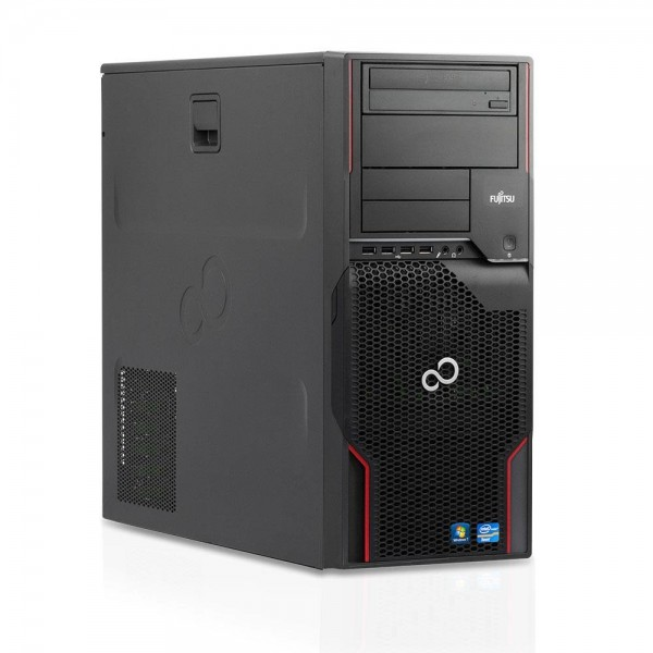 Fujitsu Celsius W510 Workstation Intel Xeon Quad Core E3 256GB SSD 20GB Win 10 Pro