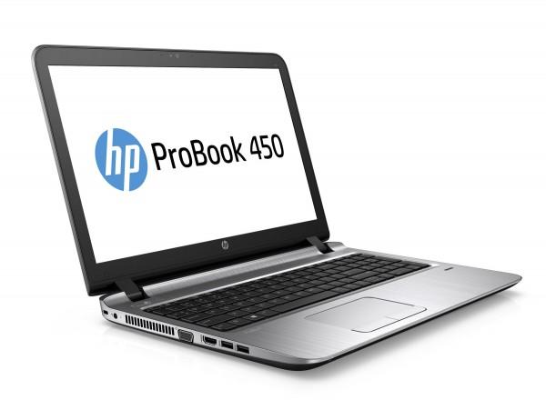 HP ProBook 450 G3 15,6 Zoll HD Intel Core i3 256GB SSD 8GB Windows 10 Pro MAR Webcam Fingerprint DVD Brenner