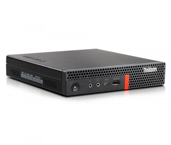 Lenovo ThinkCentre M920q Tiny USDT Intel Six Core i5 256GB SSD 8GB Windows 10 Pro inkl. W-Lan