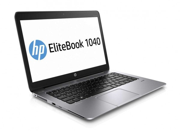 HP EliteBook Folio 1040 G1 14 Zoll 1600×900 HD+ Intel Core i5 240GB SSD 8GB Win 10 Pro Webcam