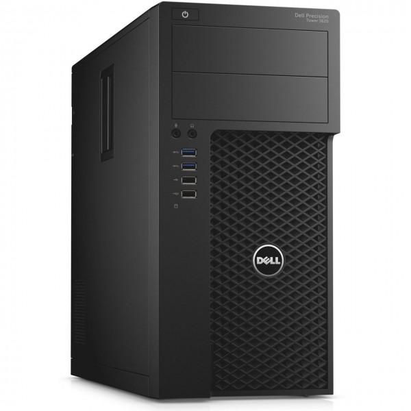 Dell Precision Tower 3620 Workstation Intel Quad Core i5 256GB SSD Festplatte 16GB Speicher Windows 10 Pro MAR AMD FirePro
