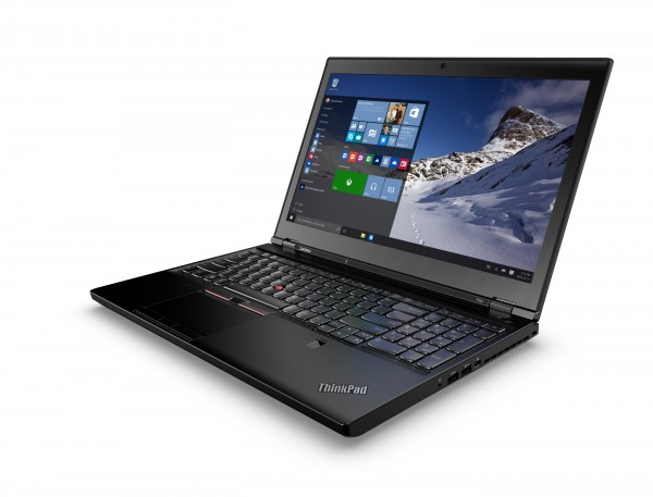 Lenovo ThinkPad P50 15,6 Zoll 1920x1080 Full HD Intel Quad Core i7 512GB SSD (NEU) 16GB Windows 10 Pro Nvidia Quadro
