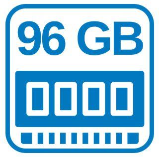 Großer Schneller Arbeitsspeicher 96 GB