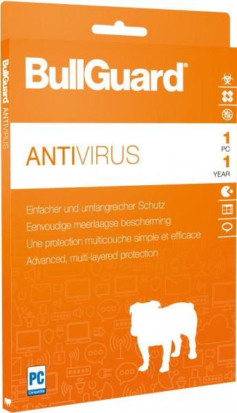 BullGuard Antivirus 1 Jahr 1 PC - ESD Download