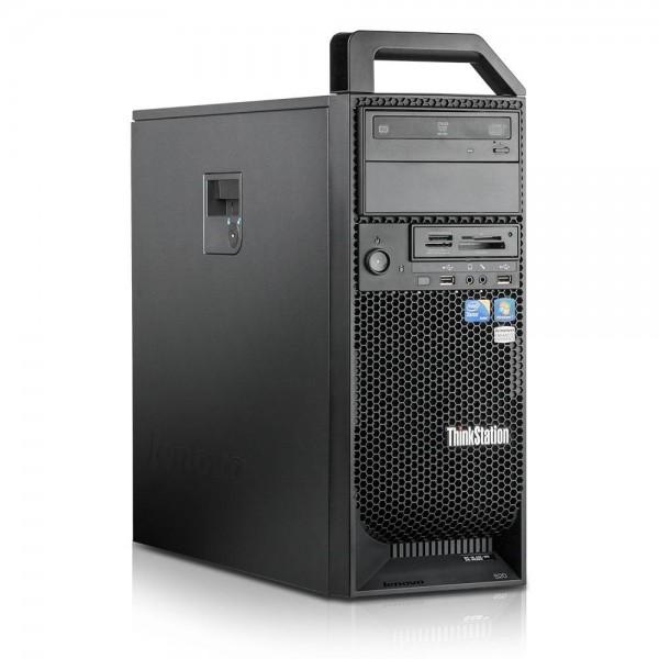 Lenovo ThinkStation S20 Xeon 160GB SSD + 500GB 24GB Win 10