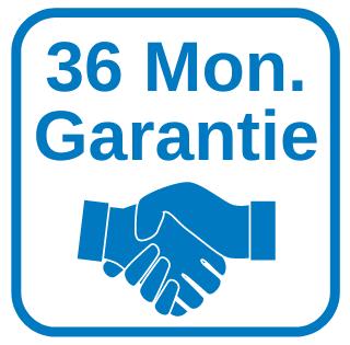 36 Monate Garantie