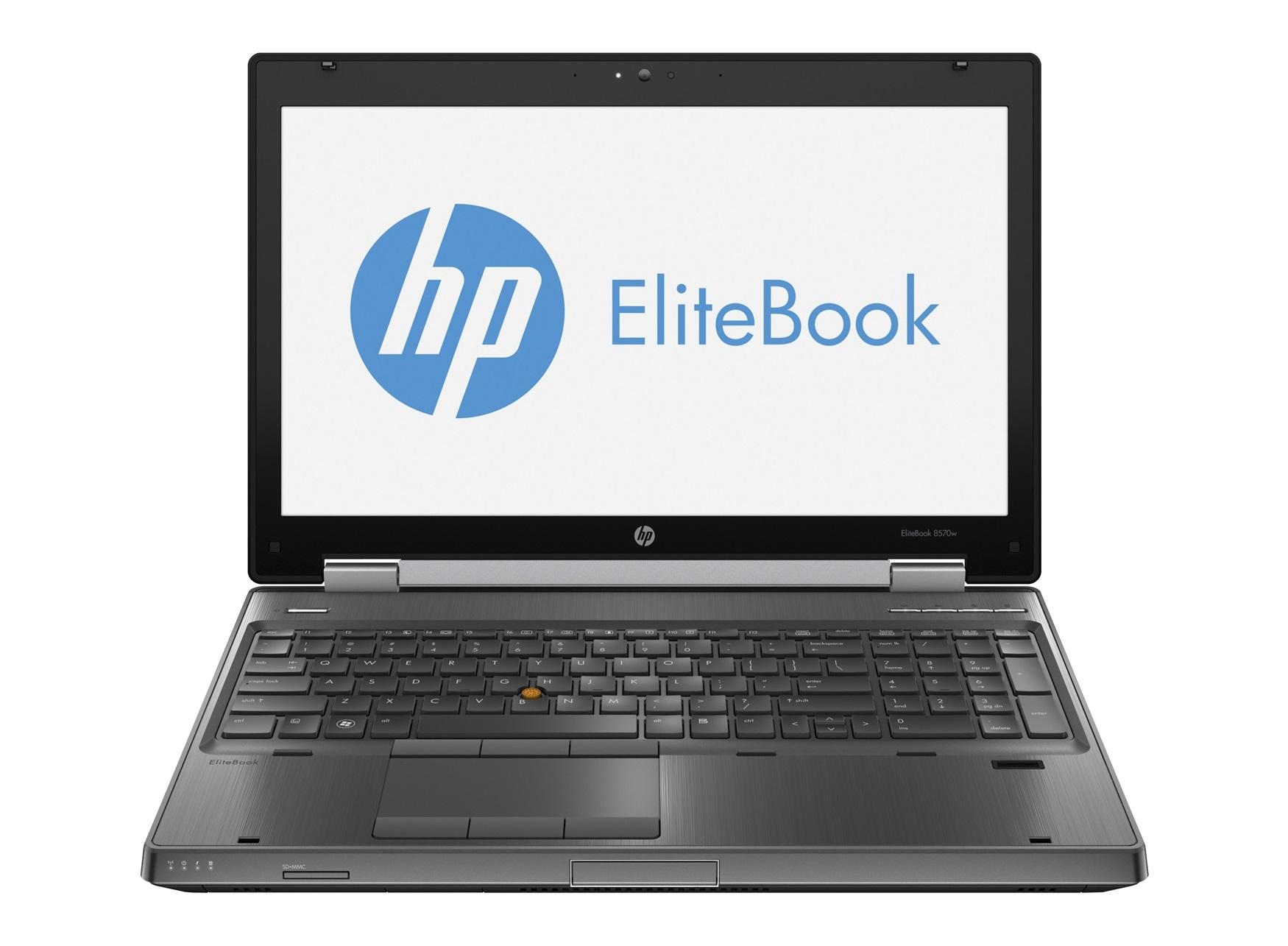 notebook hp elitebook 8570w 15 6 zoll intel core i7 128gb ssd 320gb festplatte 16gb speicher. Black Bedroom Furniture Sets. Home Design Ideas
