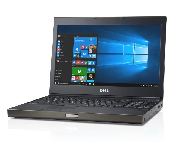 Dell Precision M4800 15,6 Zoll 1920x1080 Full HD Intel Core i7 512GB SSD 16GB Windows 10 Pro Tastaturbeleuchtung Nvidia Quadro