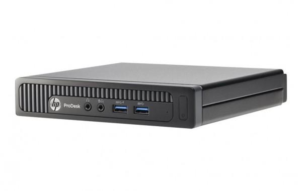 HP ProDesk 400 G2 DM USDT Mini PC Intel Quad Core i5 256GB SSD Festplatte 8GB Speicher Windows 10 Pro MAR