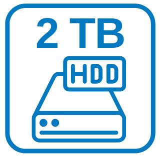 Große Schnelle Festplatte 2 TB HDD