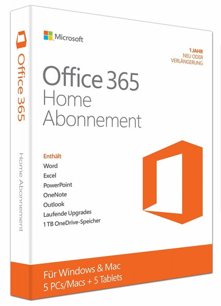Microsoft Office 365 Home 5-Benutzer ESD Download
