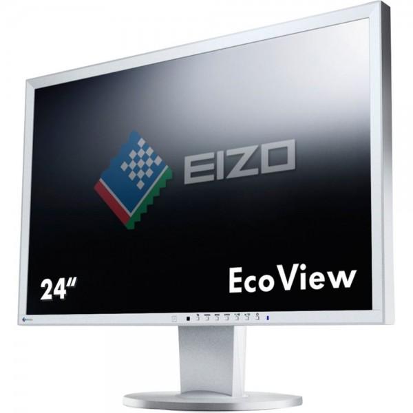Eizo FlexScan EV2416WFS3 LED grau 24 Zoll Full-HD 1920x1200 DisplayPort VGA DVI