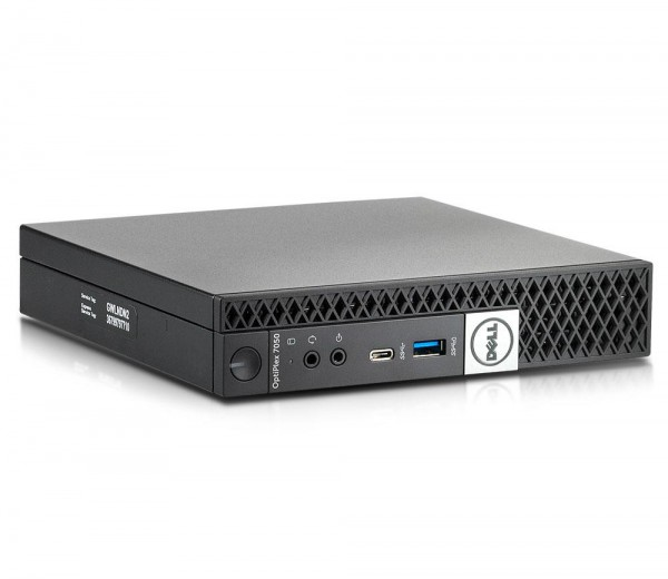 Dell Optiplex 7050 Micro USFF Mini-PC Intel Quad Core i5 256GB SSD 8GB Windows 10 Pro inkl. W-Lan