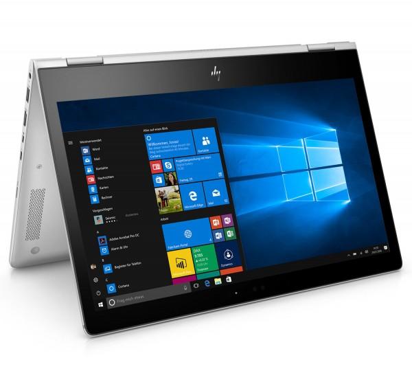 HP EliteBook x360 1030 G2 13,3 Zoll Touch Display 1920x1080 Full HD Core i5 256GB SSD 8GB Windows 10 Pro Webcam